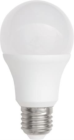 LED-lampa Normal 9 watt E27 230 volt MB 10 pack